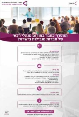 ניהול פרויקטים של פיתוח עסקים למשרדי ממשלה ומוסדות ציבוריים - מנהלי רכש חברות מובילות בישראל